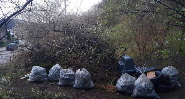 W środę udało się zebrać już sporo odpadów. Kontynuacja w sobotę.