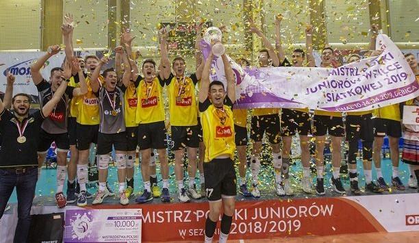 Złoto wywalczone przez juniorów Trefla Gdańsk jest pierwszym w historii klubu.