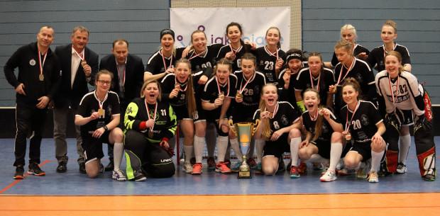 Wygrana w finale z Podhalem Nowy Targ pozwoliła uzyskać unihokeistkom Imterplastic Olimpii Osowej dziewiąty tytuł w historii klubu.