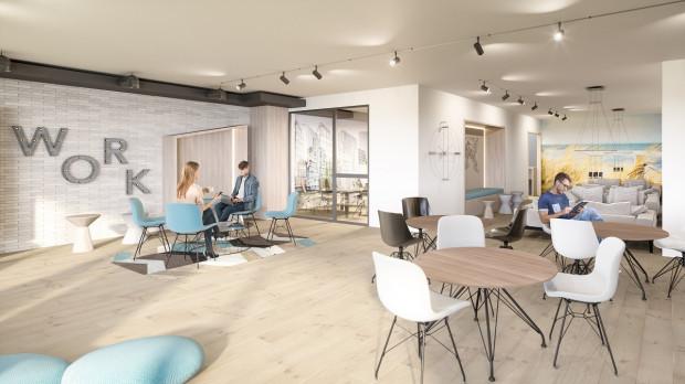 Nowa Letnica. Za dwa lata na osiedlu oddana zostanie do użytkowania wspólna przestrzeń biurowa, z której korzystać będą mogli wszyscy mieszkańcy osiedla.