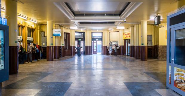 Wyremontowane mają być m.in. wnętrza dworca podmiejskiego.