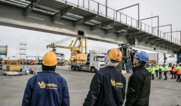 Vistal Gdynia zawarł kolejne znaczące kontrakty na rynku skandynawskim. Na zdjęciu prace przy moście obrotowym w Göteborgu, w 2015 roku.