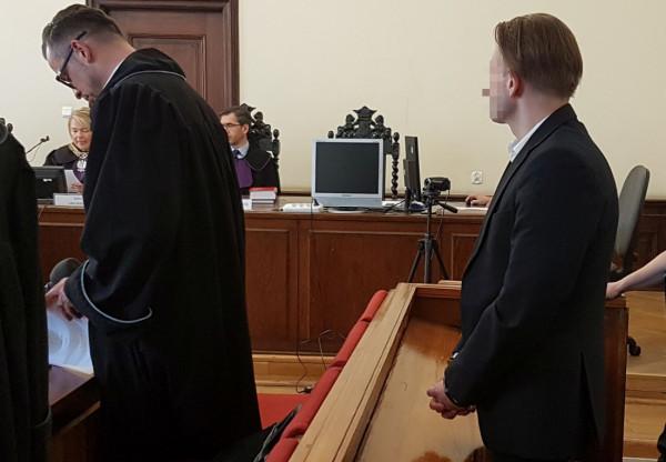 Obrońca Marcina P. domaga się przed sądem uniewinnienia swojego klienta.