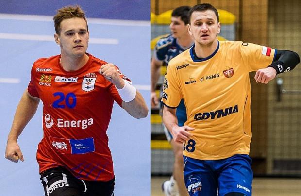 W poprzedniej kolejce obie trójmiejskie ekipy wygrały swoje mecze w Superlidze. Wojciech Prymlewicz (z lewej) i Rafał Jamioł (z prawej) liczą na to, że Wybrzeże i Arka w środę sięgną po kolejne triumfy.