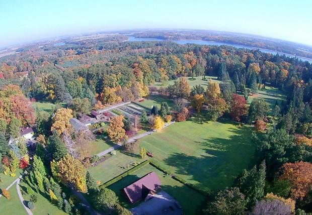 Arboretum Wirty to najstarszy leśny ogród botaniczny w Polsce.
