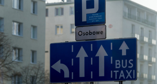 Taksówkarze mogą jeździć bez przeszkód chociażby po buspasie na Władysława IV.
