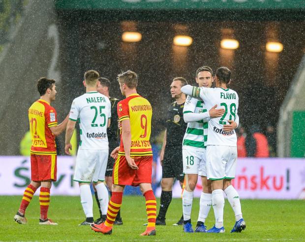 Piłkarze Lechii Gdańsk w tym sezonie ekstraklasy cieszyli się z dwóch wygranych nad Jagiellonią Białystok. Czy na Stadionie Narodowym w Warszawie będzie podobnie?