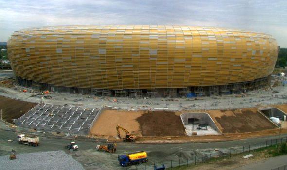 Gdański stadion jeszcze nie jest gotowy, ale już ma oficjalny adres.