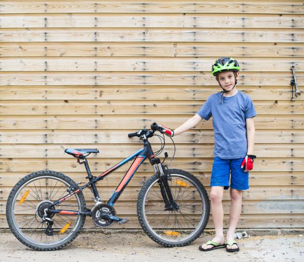 Rower cały czas jest bardzo popularnym prezentem na komunię.