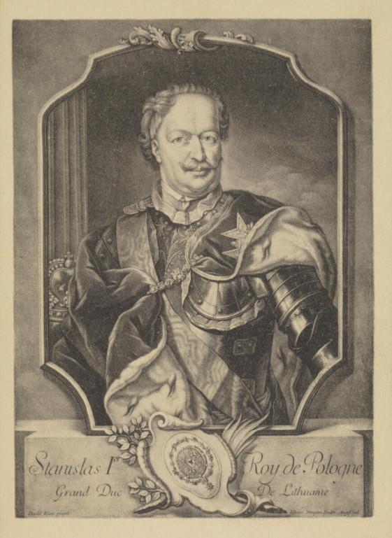 Stanisław Leszczyński, król Polski i wielki książę Litewski.