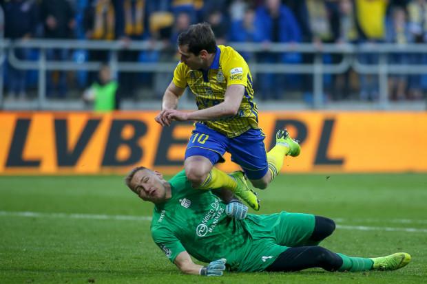 Dawid Kudła bronił kapitalnie do 85. minucie. W końcówce szalę wygranej Arki Gdynia nad Zagłębiem Sosnowiec przechylił m.in. Luka Zarandia, który zaliczył asystę i strzelił gola.