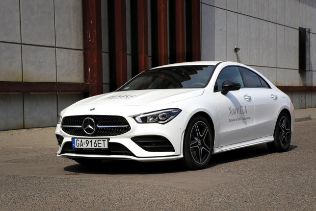 Nowy Mercedes-Benz CLA Coupe.