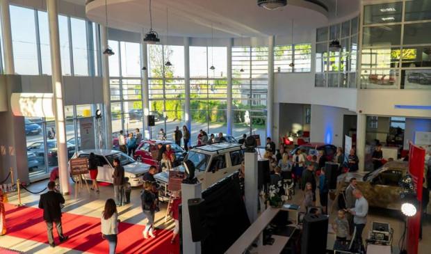 Poprzednie edycje Nocy Muzeów w salonie Toyota Walder cieszyły się dużym zainteresowaniem.