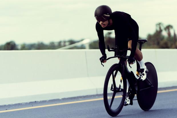 Dzięki specyficznej geometrii, rower czasowy jest preferowanym sprzętem w wyścigach triathlonowych.