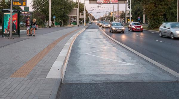 Przystanki będą wyglądały podobnie jak wcześniej już przebudowane m.in. wzdłuż ul. Morskiej.