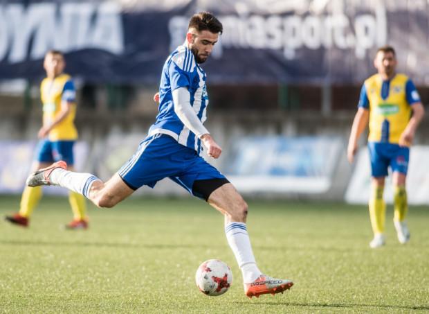 Michał Marczak zdobył w tym sezonie siedem bramek dla Bałtyku Gdynia.