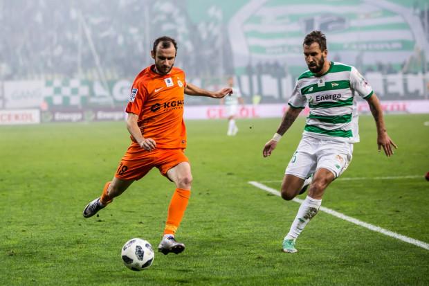 Lechia chciała pozyskać Filipa Starzyńskiego (z piłką), ale kwota transferowa podyktowana przez Zagłębie Lubin okazała się za wysoka dla gdańskiego klubu.