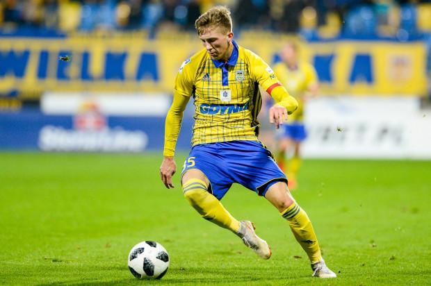 Mateusz Młyński to jeden z zawodników, który dzięki dobrej grze w centralnej lidze juniorów trafił do ekstraklasy.