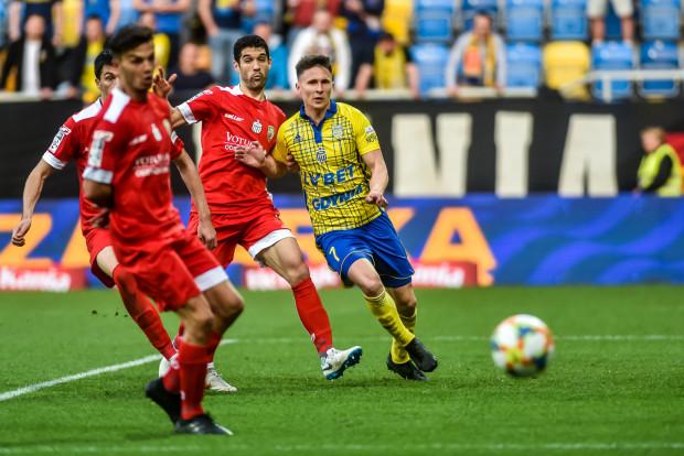 Maciej Jankowski w minionym sezonie zdobył dla Arki 10 goli i 6 asyst. W Gdyni chcą zatrzymać napastnika, któremu kończy się kontrakt, ale ten może obrać kierunek na Izrael.