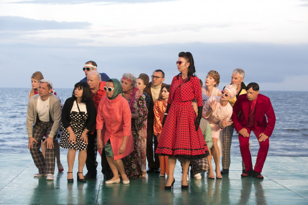 """Spektakl """"Jesteśmy na wczasach..."""" zobaczyć będzie można na Scenie Letniej w połowie lipca i na początku sierpnia."""