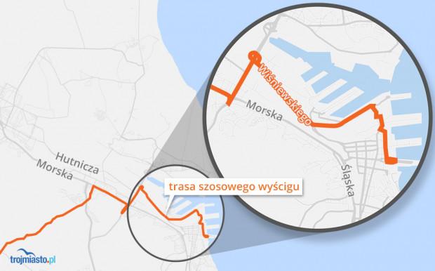 Gdyńska trasa wyścigu Gran Fondo
