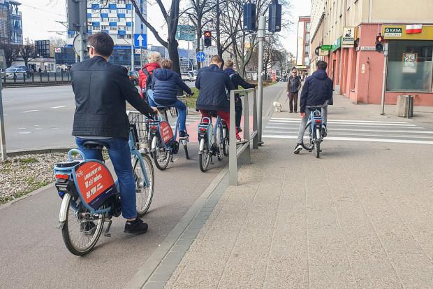 Dotychczas w systemie Mevo zarejestrowało się 100 tys. użytkowników, a rower wypożyczono ponad 600 tys. razy.