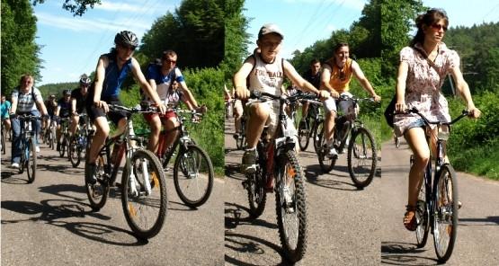 Po XV Wielkim Przejeździe Rowerowym udaliśmy się na Rowerowy Piknik do Adventure Park w Gdyni Kolibkach.