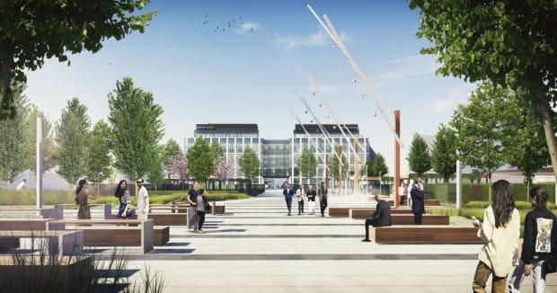 Ogólnodostępny plac ma powstać w ramach budowy kompleksu biurowego Marinna Office spółki PHN.