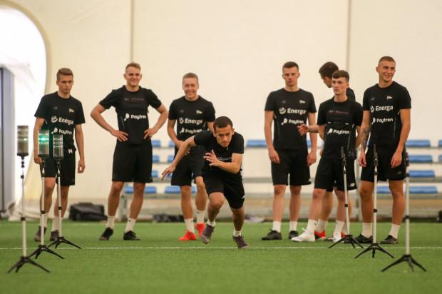 Piłkarze Lechii Gdańsk rozpoczęli przygotowania do sezonu od testów szybkościowych.