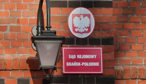 Proces ruszył przed Sądem Rejonowym Gdańsk-Południe.
