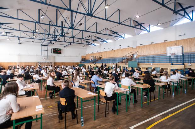 Egzamin ósmoklasisty w Szkole Podstawowej nr 47 w Gdyni.