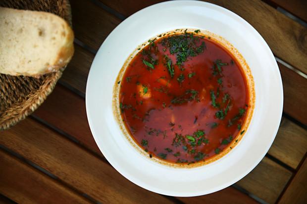 Kaszubska zupa rybna