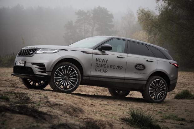Dla porównania: Range Rover Velar.