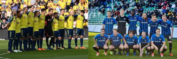 Losowanie zakończone, ale dopiero 18 lipca dowiemy się, czy Broendby Kopenhaga (z lewej) czy Inter Turku (z prawej) będzie rywalem Lechii Gdańsk w II rundzie eliminacji Ligi Europy.