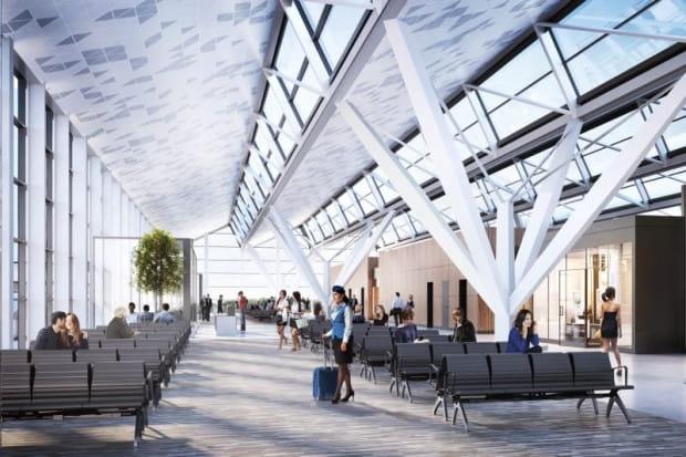 Nowy, 180-metrowy pirs o szerokości 46 m ma zostać dobudowany do istniejącego terminala pasażerskiego T2. Dzięki niemu przepustowość portu lotniczego w Gdańsku ma wzrosnąć z 7 do 9 mln pasażerów rocznie.