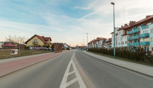 Ulica Staniszewskiego to jedna z ulic, gdzie pojawią się nowe oprawy LED.
