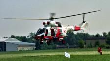 Śmigłowiec Anakonda - to on najczęściej uczestniczy  w akcjach ratunkowych na Bałtyku.