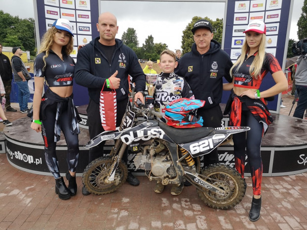 Piotr Kajrys z Gdańskiego Auto Moto Klubu wygrał rywalizację młodzieżowców.