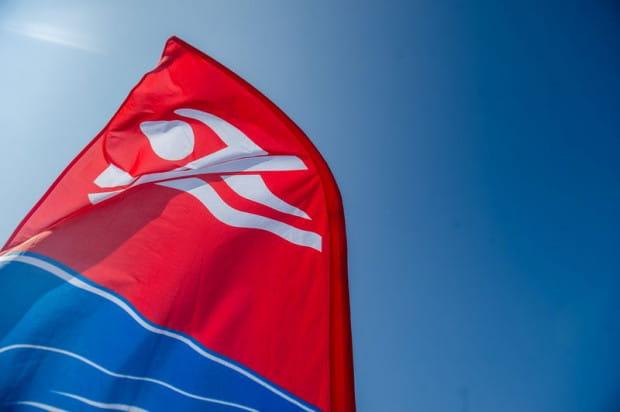 Z powodu zakwitu sinic czerwona flaga oznaczająca zakaz kąpieli pojawiła się na plażach na Stogach i w Sobieszewie.