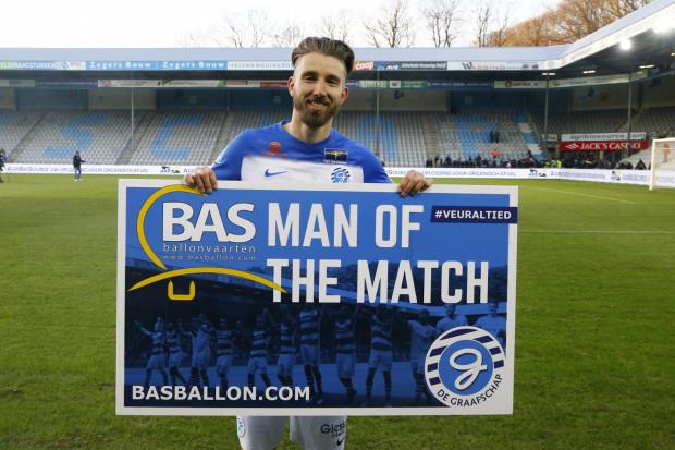 Fabian Serrarens całą dotychczasową karierę spędził w swojej ojczyźnie - Holandii.