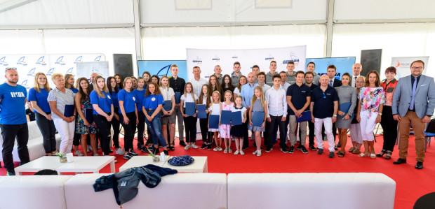 Laureaci nagród prezydenta Gdyni za osiągnięcia sportowe w 2019 roku.