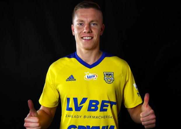 Michał Kopczyński podpisał 2-letni kontrakt z Arką Gdynia.
