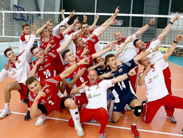 Reprezentacja Polski do lat 17 w siatkówce.