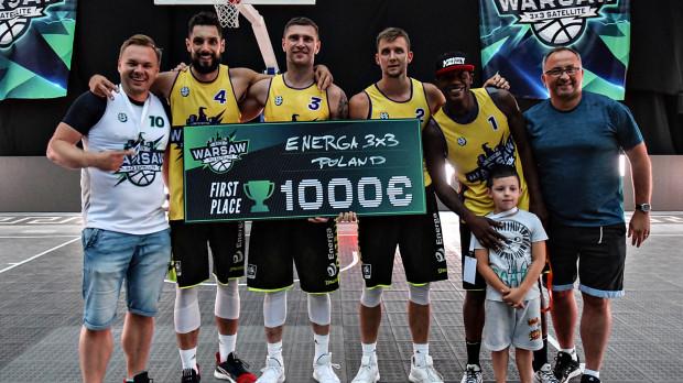 Po zdobyciu brązowego medalu mistrzostw świata, wygranie Warsaw 3x3 FIBA Satellite jest kolejnym sukcesem gdańskich koszykarzy.