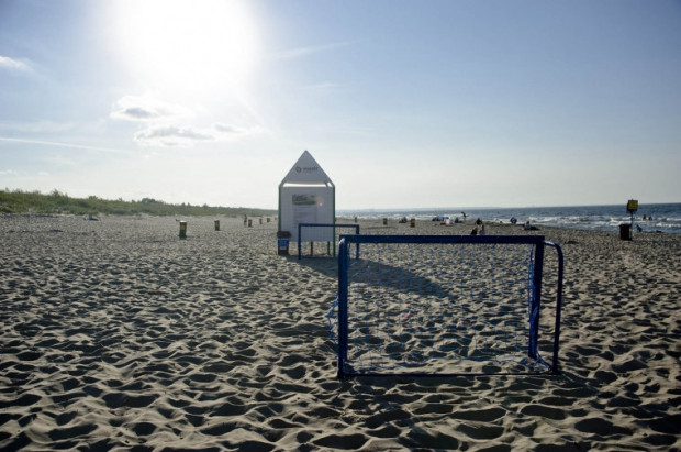 Plaża w Sobieszewie znalazła się na 12. miejscu.