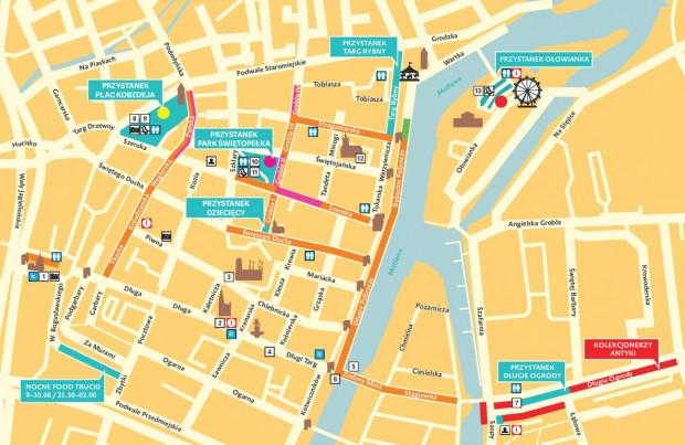 Zobacz mapę stoisk podczas tegorocznego Jarmarku św. Dominika.