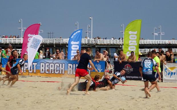 VII Sopot Beach Rugby 3 sierpnia to nie tylko 7 godzin gry, ale i dobrej zabawy dla uczestników i kibiców.