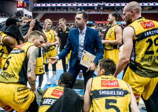 Marcin Stefański na pierwszym treningu miał tylko dwóch koszykarzy do dyspozycji z poprzedniej kampanii. To Paweł Leończyk i Michał Kolenda.