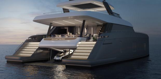 Luksusowy jacht pomieści 12 osób oraz załogę.