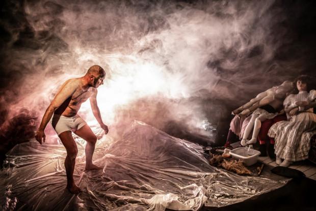 """Spektakl Wrocławskiego Teatru Lalek """"Moskwin"""" zobaczyć będzie można 28 sierpnia na Scenie Kameralnej Teatru Wybrzeże."""